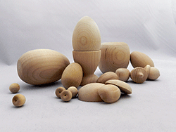 Wooden Eggs And Fruit | Bear Woods Supply