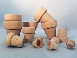 Wooden Flower Pots | Bear Woods Supply