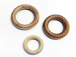 Buy wooden toss rings, made in the USA | Bear Woods Supply