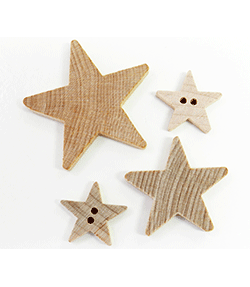 Buy wooden stars cut-outs | Bear Woods Supply