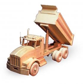 """Kenworth Dump Truck 18"""" (Woodworking Patterns)"""