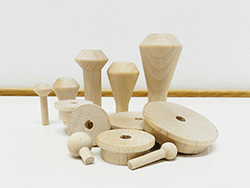 Buy wood toy train wheels and smokestacks | Bear Woods Supply