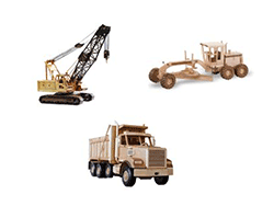wooden crane patterns, heavy equipment and construction | Bear Woods Supply