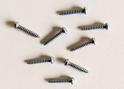 Buy Zinc Plated Phillips Roundhead Screws | Bear Woods Supply